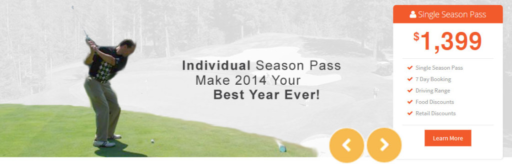 Individual Seasonal Pass