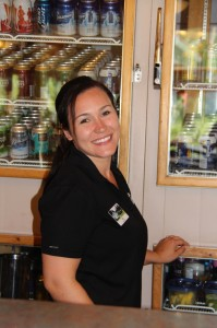 Tia, our May Employee of the Month in The Clubhouse
