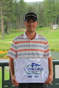 Chris Mattson from Calgary, got a hole in one on #14 on August 3rd!