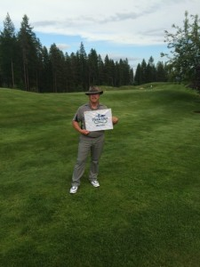 #11 , second hole in one this year @ Trickle Creek . Bob St. Pierre, of the Cloverdale Paint Golf Group